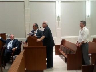 Daibes representatives at July 15 TC meeting