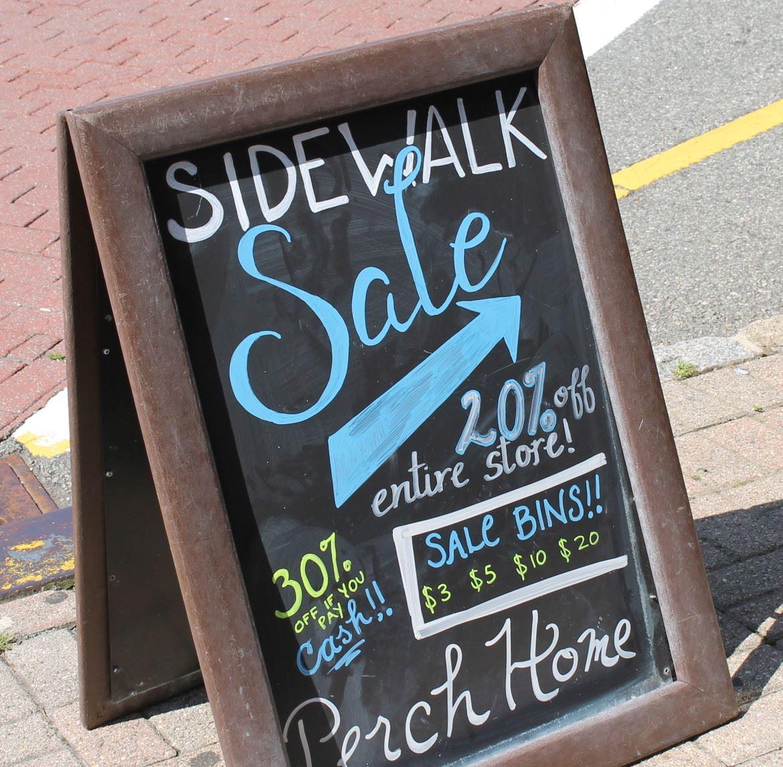 Maplewood Sidewalk Sale