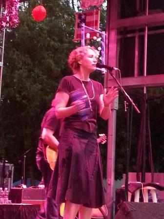 Joan Osborne at Maplewoodstock 2013