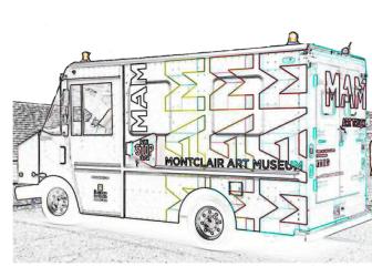 Montclair Art Museum (MAM) Art Truck