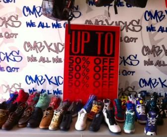 CMB Kicks shoes