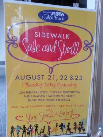 Millburn Sidewalk Sale