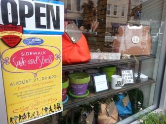 Millburn Sidewalk Sale Store
