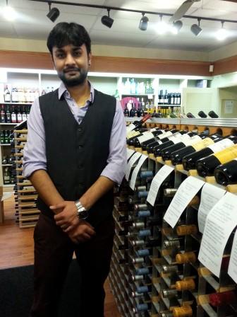 Village Wine Shop owner Sid Patel