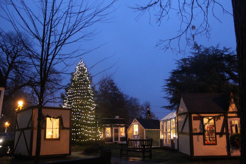 Dickens Village Tree Lighting 2014