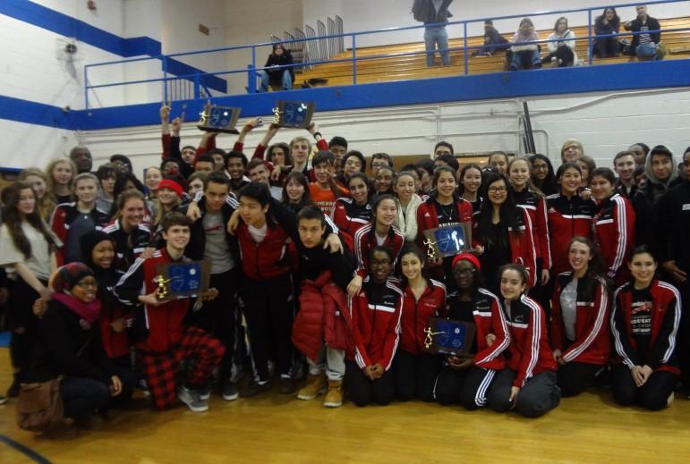 CHS Fencing Team (credit Ingrid Accardi)