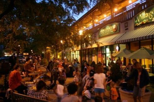 Downtown After Sundown