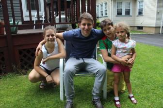 Eva, Noah, Ben and Sarah