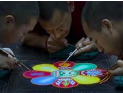 Mandala close up