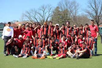 Maplewood Ultimate Frisbee JV team Photo 2015