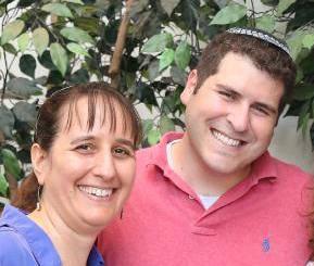 Rabbi Becca Gould and Rabbi Jesse Olitzky