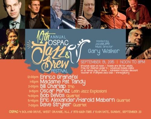 OSPAC Jazz & Brew Fest