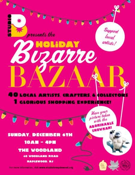 The Studio B Holiday Bazaar