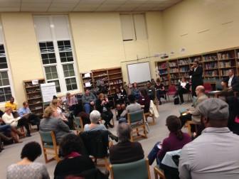South Orange-Maplewood Math KIVA, Dec. 17, 2015. Photo by Alli Joseph Leonard