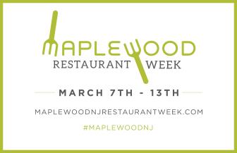 Maplewood Restaurant Week poster