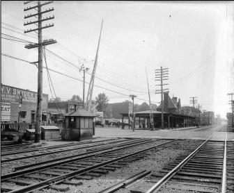 South Orange Train Station before elevation, courtesy of Thomas Vilardi