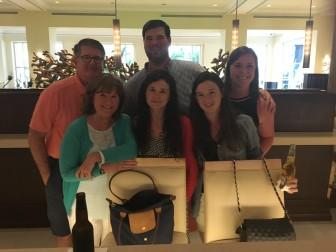 Mark Mahony and family