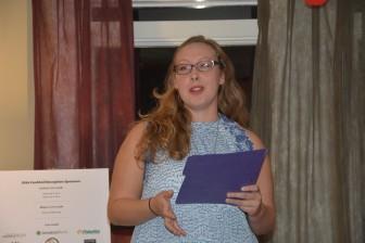 CHSSF Scholarship Recipient Alexandra Fagundez
