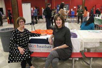 Event sponsors Suki Marsh-Shikiar and Heather Gilheany