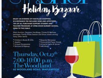 10th Annual Sip U0026 Shop Holiday Bazaar. Open Door ...