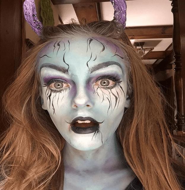 Halloween Extravaganza Highlights Talented Maplewood Teen Makeup ...