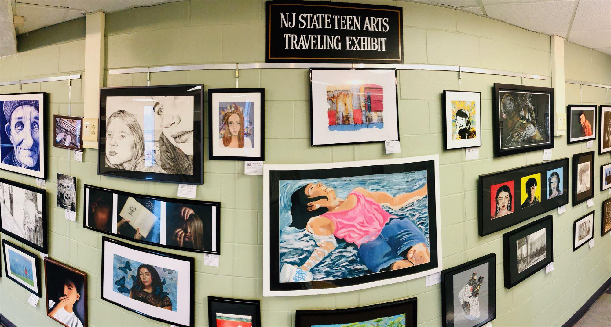 NJ Teen Arts Festival Recognizes Columbia High School Art Students - The  Village Green