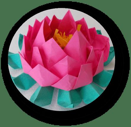 Origami Lotus The Village Green