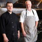 Bistro D'Azur Executive Chef Richard Krug (right)