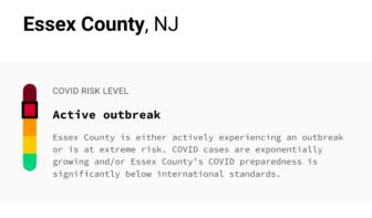 Essex County COVID-19 Outbreak Status, Jan. 18, 2021
