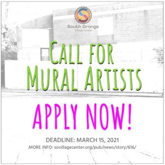 South Orange Village Center Alliance (SOVCA) call for mural artists