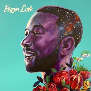 Cover of John Legend album, 'Bigger Love'